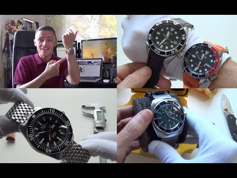 Seiko Sumo & SKX Rubber Straps, Ball Master Engineer Automatic SkinDiver Review, Vostok Unboxing