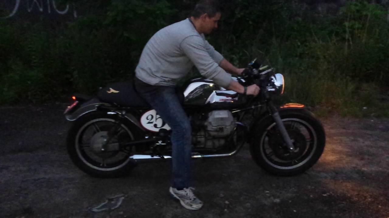 Moto Guzzi Cafe Racer Sound