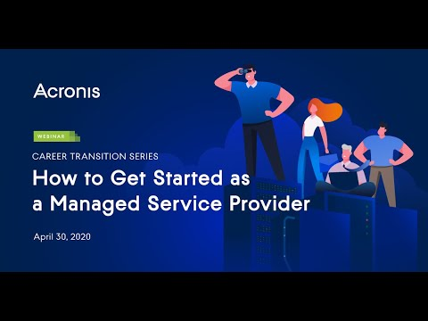 Career Transition Series: How to Get Started as a Managed Service Provider