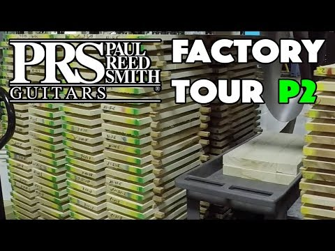 How is PRS Maple Graded?  S2, 10 Top, Artist Pack, Private Stock, etc. FACTORY TOUR Part 2