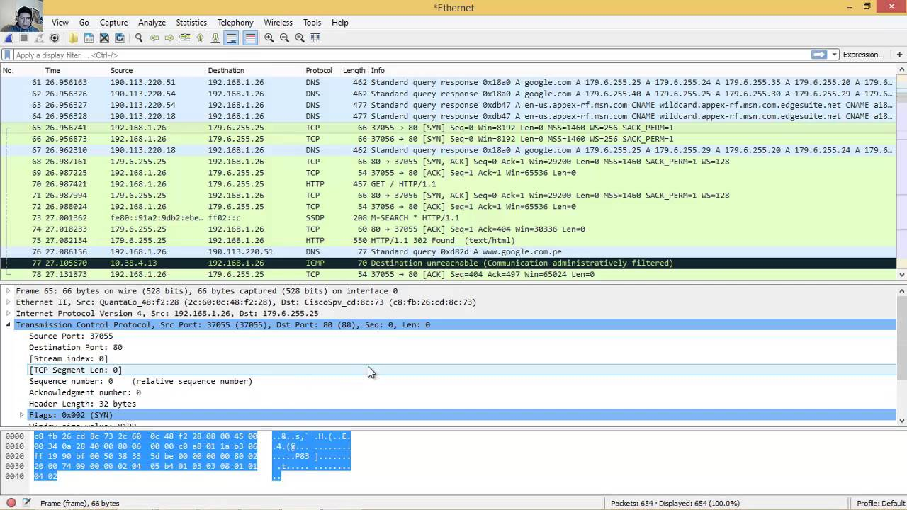 Wireshark Lab 2, Part 1: HTTP Get/Response Interaction
