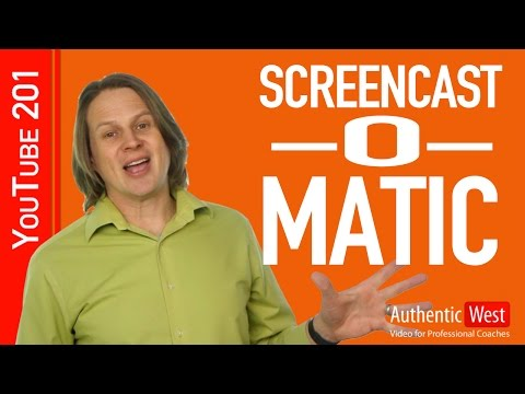 How to Use Screencast-O-Matic: An Overview | Brighton West