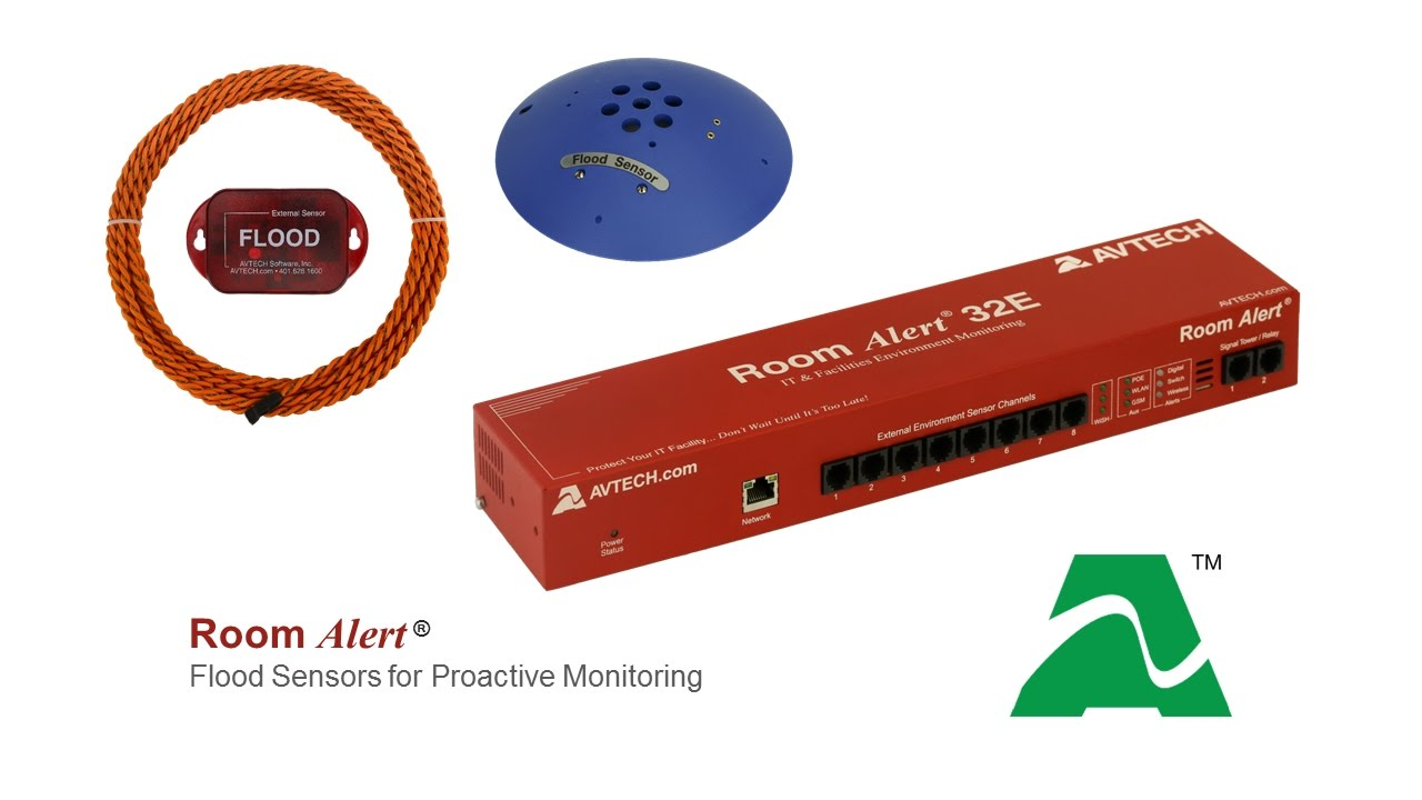 Protect Against Flood Damage With Room Alert Youtube