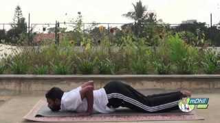 How to do the 12 step Surya Namaskar (Sun Salutation) - Hindi