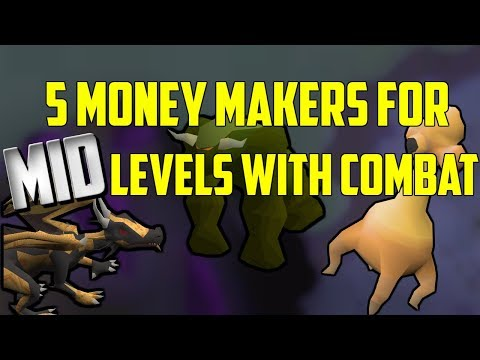 OSRS - Top 5 Combat Money Making Methods For Mid Level Accounts (2)