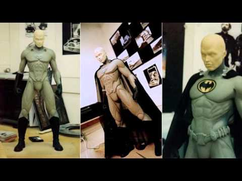 Batsuit Prototype from Tim Burton
