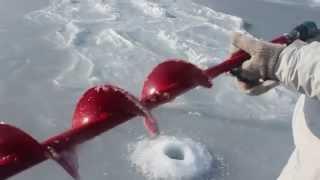 видео Адаптер для ледобура под шуруповёрт. Хитрость профессиональных рыбаков.