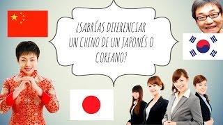 ¿SABRÍAS DIFERENCIAR UN CHINO DE UN JAPONÉS O COREANO? ~ soñadoracompulsiva