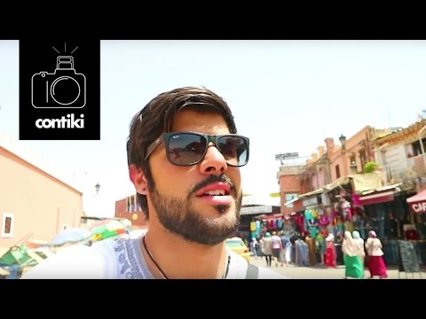 THE MAGIC OF MARRAKECH // 48 Hours on Contiki with Mikael - Morocco