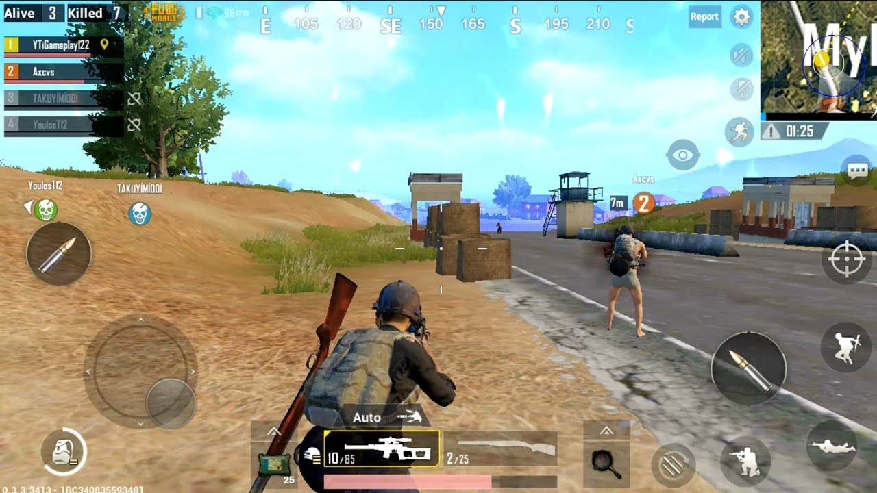 Pubg Mobile Android Gameplay Youtube