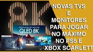 PS5 E XBOX SCARLETT TVS E MONITORES COM HDMI 2.1