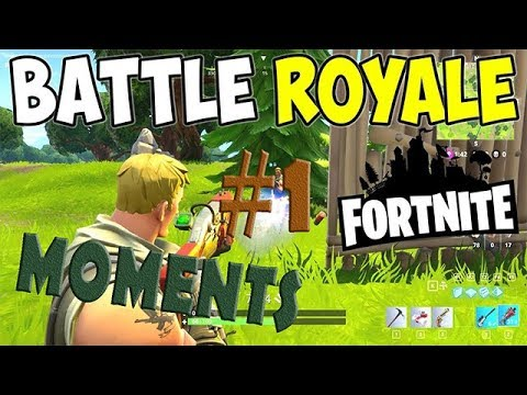 FORTNITE BATTLE ROYALE WTF Funny Moments Highlights Ep 1 - Funky Studio present