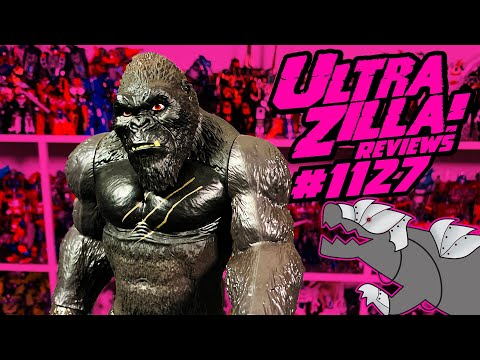 PLAYMATES TOYS GODZILLA VS. KONG GIANT KONG REVIEW!