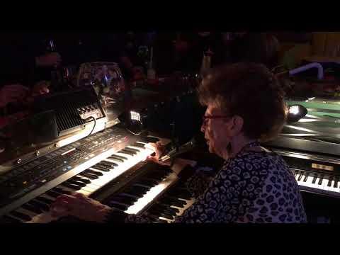 Piano Pat rocking it at the Sip N Dip Great Falls, MT
