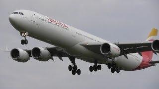 Plane Spotting at London Heathrow Airport, RW27L Evening Arrivals! 18-09-17