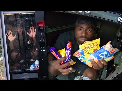 I was locked inside a VENDING MACHINE goes wrong