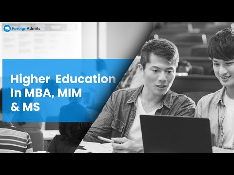 Higher Education & Study Abroad MS, MBA, MIM - ForeignAdmits in Bangalore