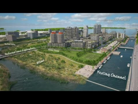 Inside the construction project promising to transform Toronto's waterfront