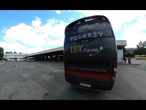2016リトアニア→ラトビア LUX Express その1 Vilnius LITHUANIA to Riga LATVIA