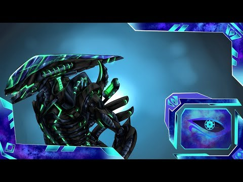|MECHA| Robot-Xenomorph: Speedpaint:(Part-2)