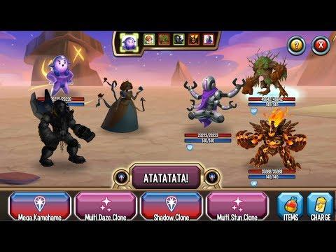 Monster Legends - Uru level 1-130 combat PVP review :D