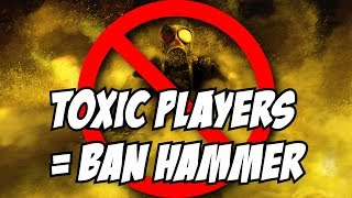 Rainbow Six Siege Report Toxic Behavior on TTS = Ban