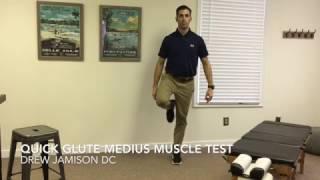 Richmond VA Chiropractor - Quick Glute Mediu Muscle Test