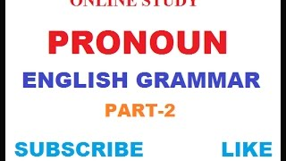 PRONOUNS IN ENGLISH GRAMMAR (PART-2 FOR SBI PO/SSC CGL/MTS/CHSL/RAILWAY...) thumbnail
