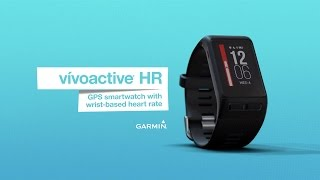Try on vívoactive HR and experience Elevate wrist-based heart rate ...