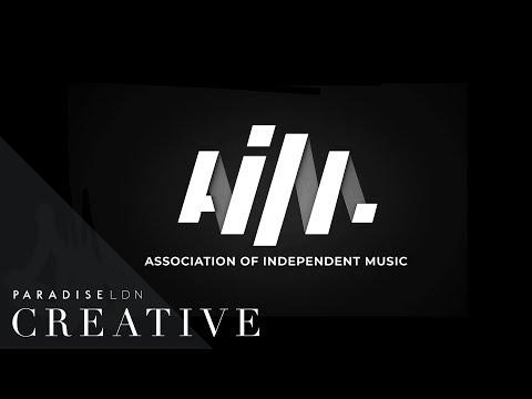 Paradise London Creative | Association of Independent Music | Logo Animation Black
