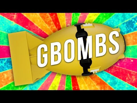 I AM BOMBS AND EXPLOSIONS! (Garry's Mod Addon Review)