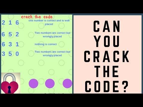Crack the code Brain Teasers - YouTube