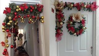 Ideas para Decorar guirnaldas Navidenas 2018 ❤️🔆🔆Cómo decorar una guirnalda de navidad 🎄