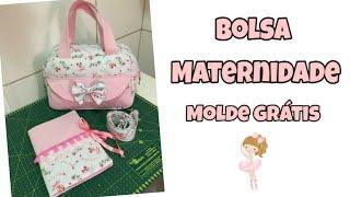 Bolsa maternidade passo a passo / MOLDE GRÁTIS