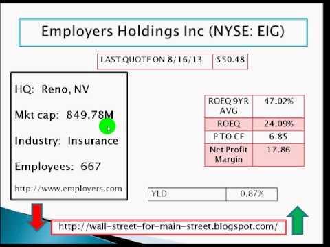 Employers Holdings Inc (NYSE: EIG)