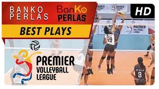 PVL RC Season 2: Nicole Tiamzon towers over the blockers for a vicious hit! | BKP | Best Plays