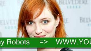Christina Hendricks and Gay Robots