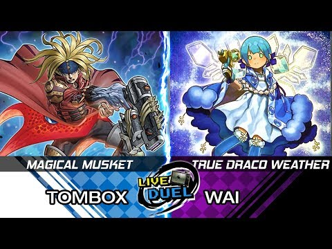 Magical Musketeer vs Weather Painter True Draco - Live Commentary Match - YUGIOH