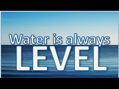 Water is Always Level