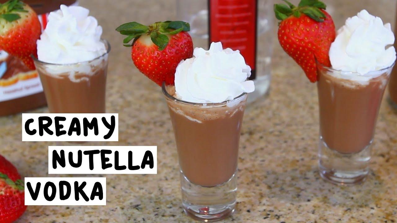 nutella shots recept