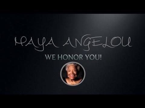 We Honor Maya! #HonoringMaya