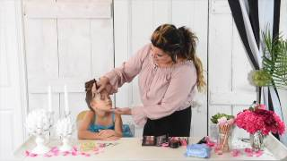 Children's Dance Recital Makeup & Hair Tutorial