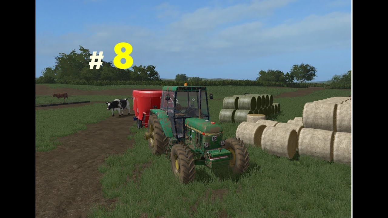 Farming simulator 17|Ep.10|incercam sa dam de mancare la vaci
