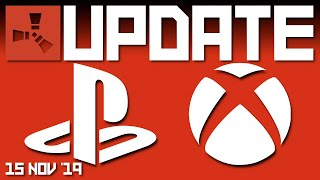 RUST ON CONSOLE in 2020 XBOX ONE and PS4 | Rust update 15th November 2019