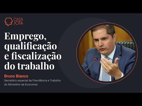 Webinar com Bruno Bianco, secretário da Previdência e Trabalho l 09/06/21
