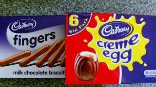 Cadbury Creme Egg & Soldiers