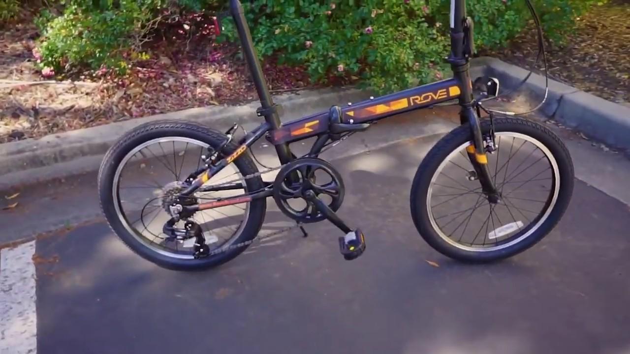 Zizzo X Rove Brand Campo Folding Bike Youtube