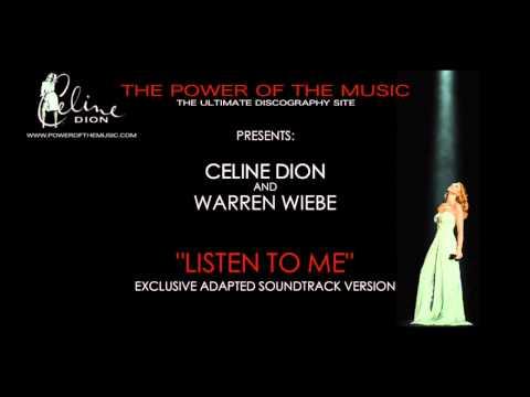 Listen To Me: Celine Dion (Adapted Soundtrack Version)
