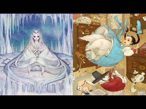 Волшебные корейские иллюстрации к европейским сказкам. Принцессы Диснея