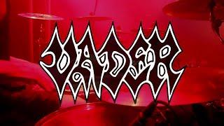 Vader - Shock and Awe/Into Oblivion - Live Drumcam